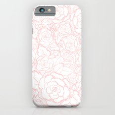 Pink Roses iPhone 6 Slim Case