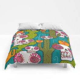 Skulls, Cacti and Atomic Coffee Comforters
