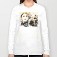 best friends Long Sleeve T-shirts featuring Best Friends by Fresh Doodle - JP Valderrama