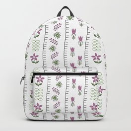 Classic Embroidery Backpack