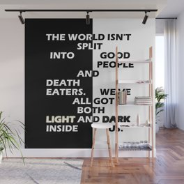 Good People and Death Eaters Wall Mural