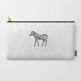 zebra draw abstract Carry-All Pouch
