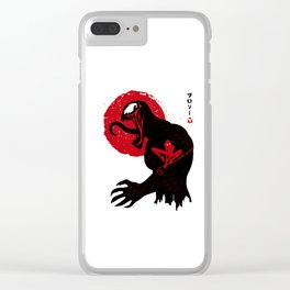 Rising Spider Black Clear iPhone Case