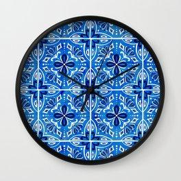 Sevilla - Spanish Tile Wall Clock