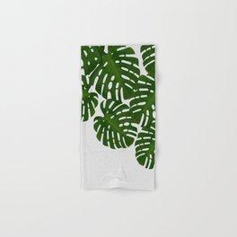 Monstera Leaf I Hand & Bath Towel