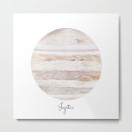Jupiter planet Metal Print
