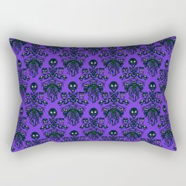 Wall To Wall Creeps Rectangular Pillow