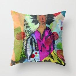Shamata Throw Pillow