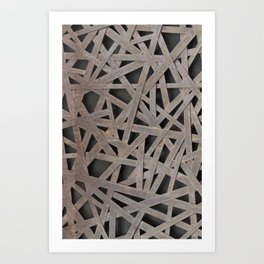 Alloy net Art Print
