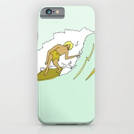70s outer banks surf // retro surf by surfy birdy iPhone Case