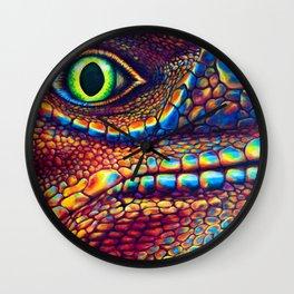 Lizard Eye Wall Clock