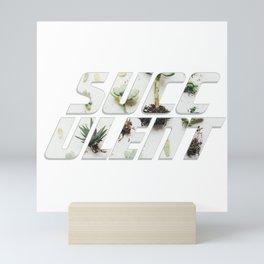 succulent Mini Art Print
