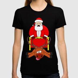Poor santa reindeer T-shirt