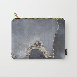 A Splash of Royalty Carry-All Pouch