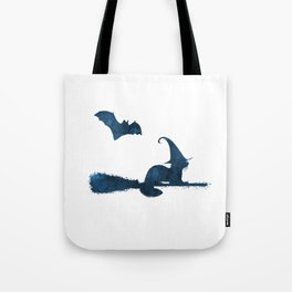 Witch Ferret Tote Bag