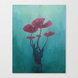 Drowning Lily Canvas Print