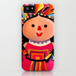 MEXICAN MARIA DOLL*** iPhone Case