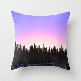 Nordic Adventure Throw Pillow