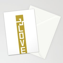 ELOVE - KHAKI Stationery Cards
