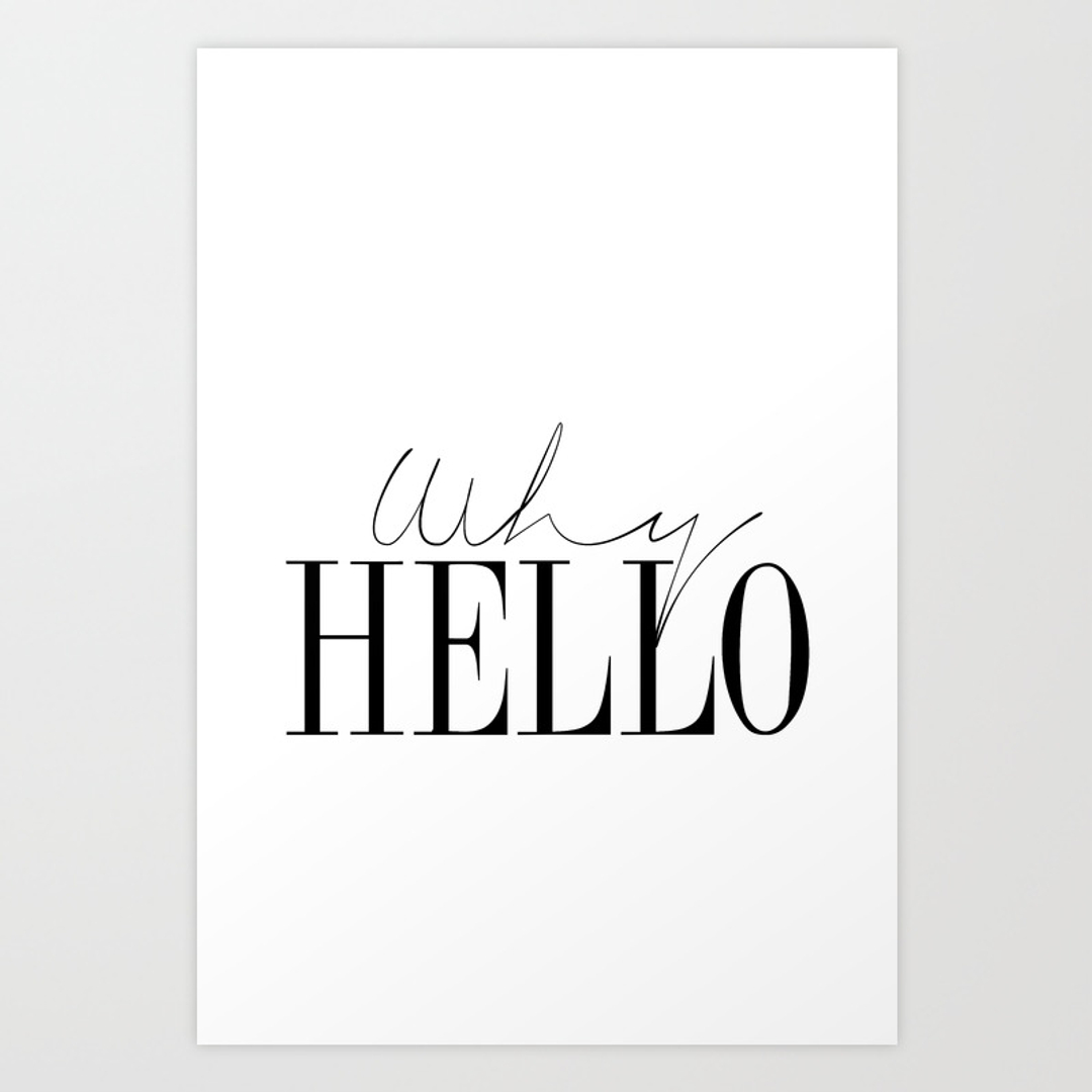 typography art prints page 3 of 100 society6