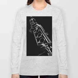 B&W Clarinet Long Sleeve T-shirt