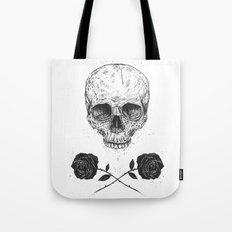 Skull N' Roses Tote Bag