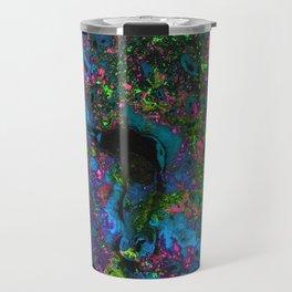 Raver (Alcohol Inks Series 05) Travel Mug