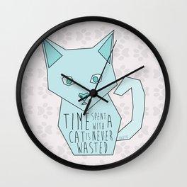 Just Cats Wall Clock