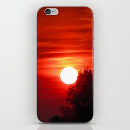 Out the door iPhone Skin