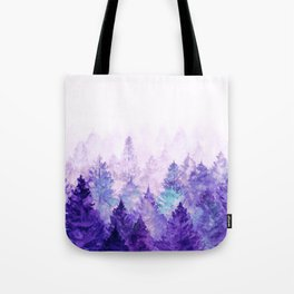 Fade Away Ultra Violet Tote Bag
