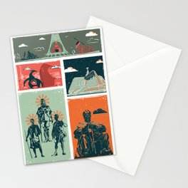 CITY SWATCHES (Nairobi Line 3) Stationery Cards