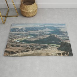 Green river in Canyonlands Rug