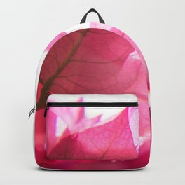 Bright Bougainvillea Backpack