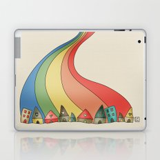 Rainbow {Weeeee} Laptop & iPad Skin