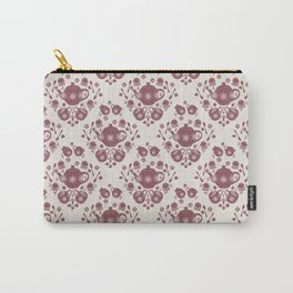 Afternoon Tea Damask Carry-All Pouch