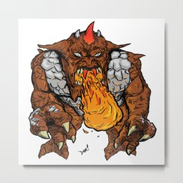 Metlar (Inhumanoids) Metal Print