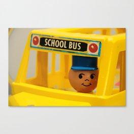 Fisher Price School Bus Canvas Print
