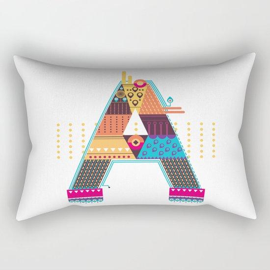 A as ... A Rectangular Pillow