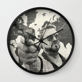 A world of pain b Wall Clock