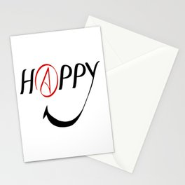 Happy Atheists Stationery Cards