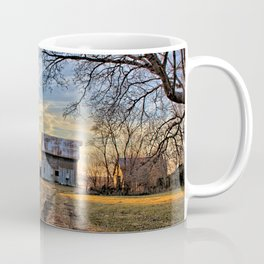 Kipling Barn Sunset 2 Coffee Mug