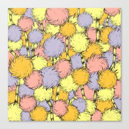 Truffula Canvas Print