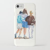 best friends iPhone & iPod Cases featuring Best Friends by MadDog