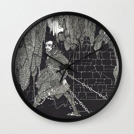 The Cask of Amontillado by Harry Clarke Wall Clock