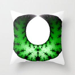 Fractal Art - Necklace Throw Pillow