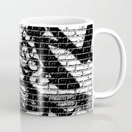 Brick Wall Graffiti Street Art Coffee Mug