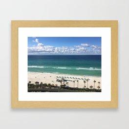 Vacation Escape Framed Art Print