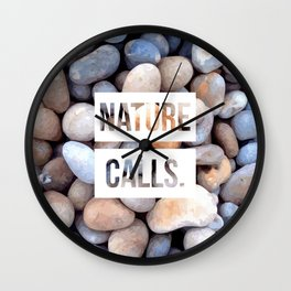 Nature Calls | 3 Wall Clock