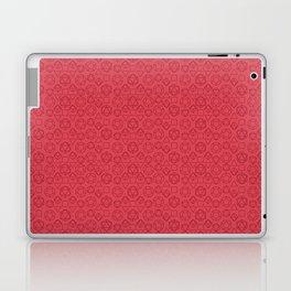 Red dice pattern Laptop & iPad Skin
