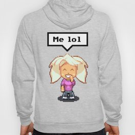 Julieta Chibi - Smile - Dialog Box - Me LOL Hoody